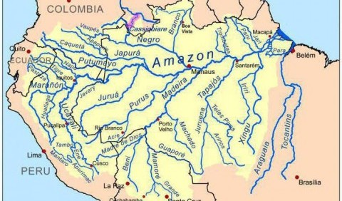 Амазонська низовина – зелений океан