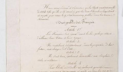 «Хартія 1830 року» у Франції