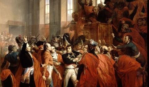 Основні події четвертого періоду Великої французької революції кінця XVIII ст.