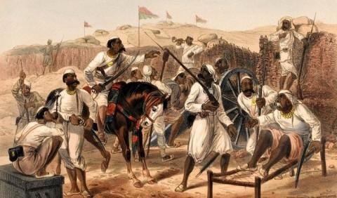Повстання сипаїв 1857–1858 рр
