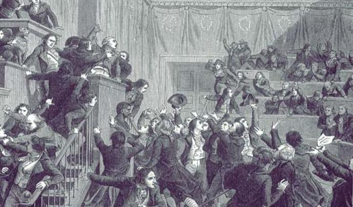 Періодизація Великої французької революції кінця XVIII ст.