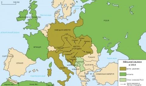 Особливості міжнародних військово-політичних блоків – Троїстий союз і Антанта