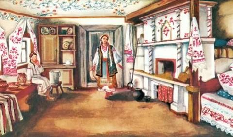 Інтер'єр української традиційної хати