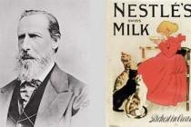 Історія харчового бренду Nestle