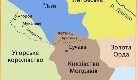 Буковина у складі Молдавського князівства