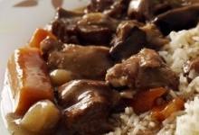 Відварна яловичина з грибами