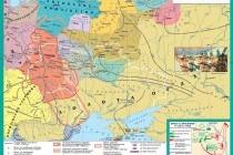 Галицька і Волинська землі: утворення і зростання князівств