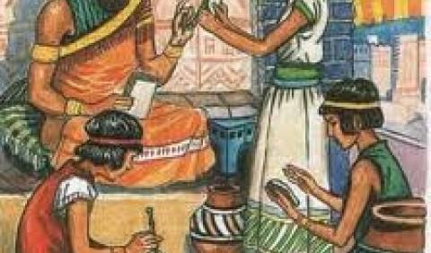 Господарство та торгівля жителів Дворіччя