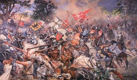 Грюнвальдська битва – вирішальна битва Великої війни