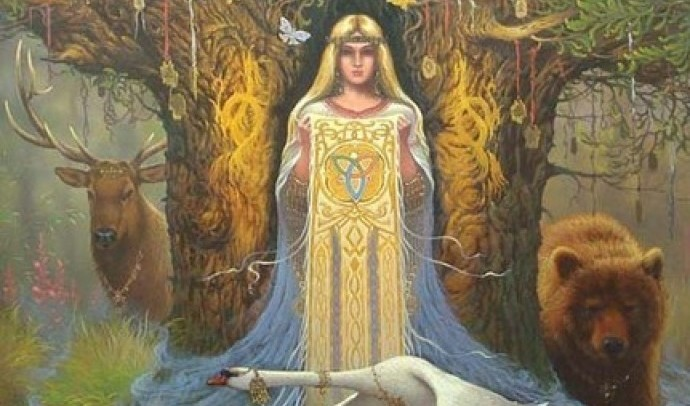 Дана – слов'янська богиня води й річок