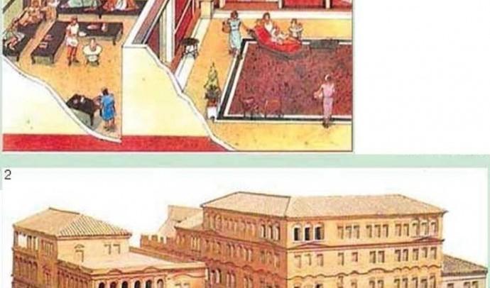 Побут заможних римлян