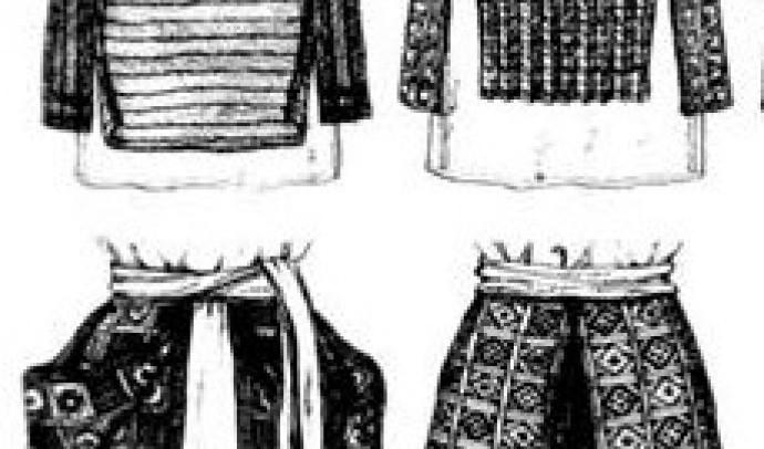 Український традиційний поясний одяг