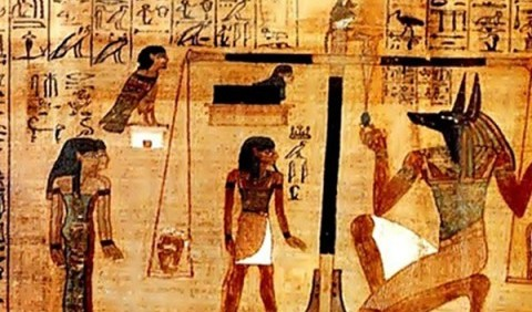 Загробне царство Анубіса та Осіріса