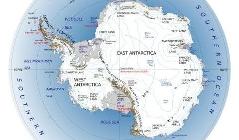 Антарктида – протилежність Арктики