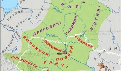 Державні об'єднання східних слов'ян