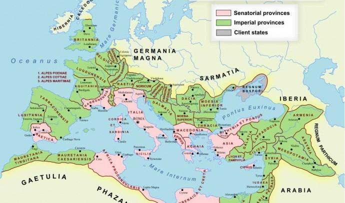 Війни Риму II ст. до н. е. та утворення нових провінцій