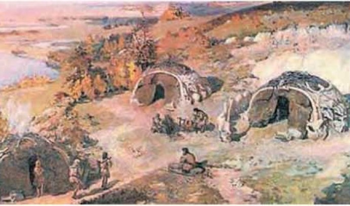 Перші люди на території України