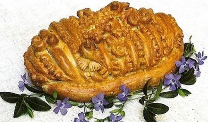 Лежень (весільний хліб)