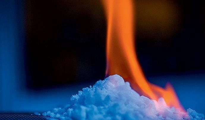 Чи може лід горіти?