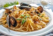 Паста з морепродуктами