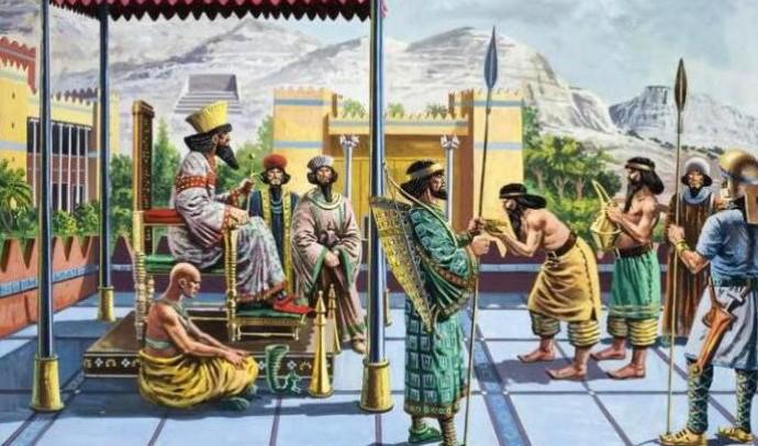Найважливіші події, пов'язані з виникненням Перської держави