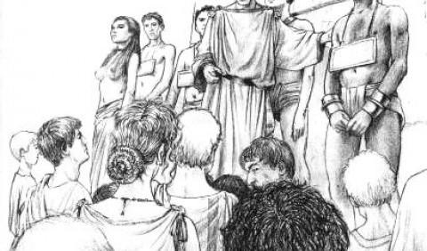 Побут бідних римлян