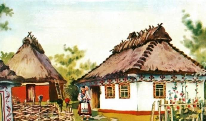 Український традиційний двір