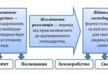 Характерні риси неолітичної революції