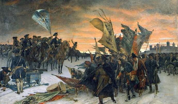 Участь українських полків у Північній війні
