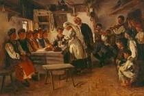 Підготовка до шлюбу (українське традиційне весілля)