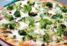 Піца з броколі