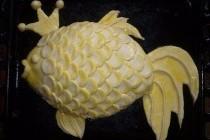 Рибний пиріг «Золота рибка»