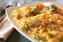Ризото з морепродуктами