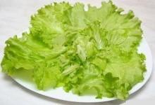 Салат зелений по-закарпатськи