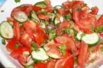 Салат сезонний