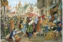 Основні причини виникнення середньовічних міст