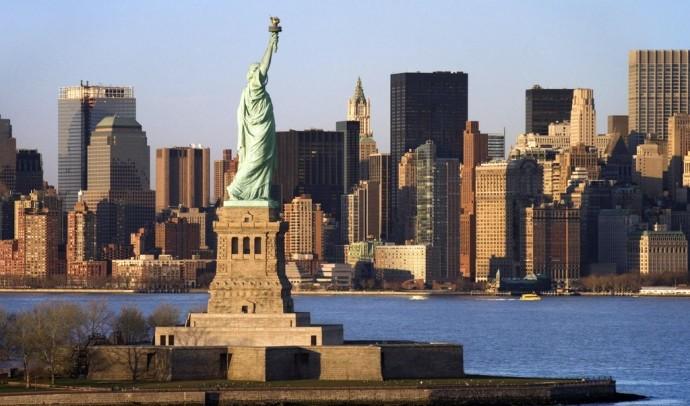Статуя Свободи в Нью-Йорку