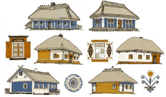 Традиційне житло українців – хата