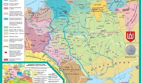Боротьба Польщі, Литви та Угорщини за галицько-волинські землі