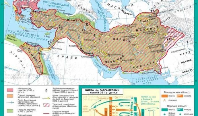 Результати та значення діяльності Александра Македонського