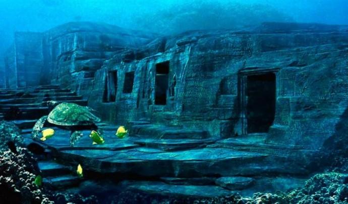 Піраміди на морському дні
