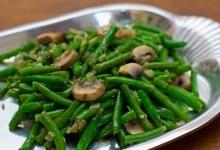Салат із стручкової квасолі