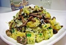 Салат картопляний з грибами