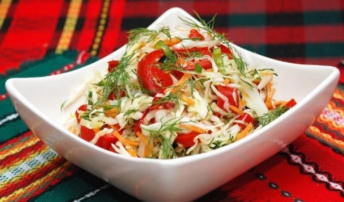 Салат з овочів по-карпатськи